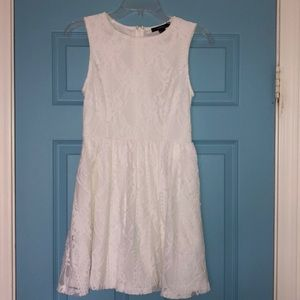 Forever 21 White Lacey Dress